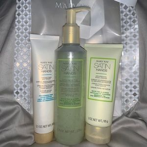 NEW MARY KAY SATIN HANDS SET